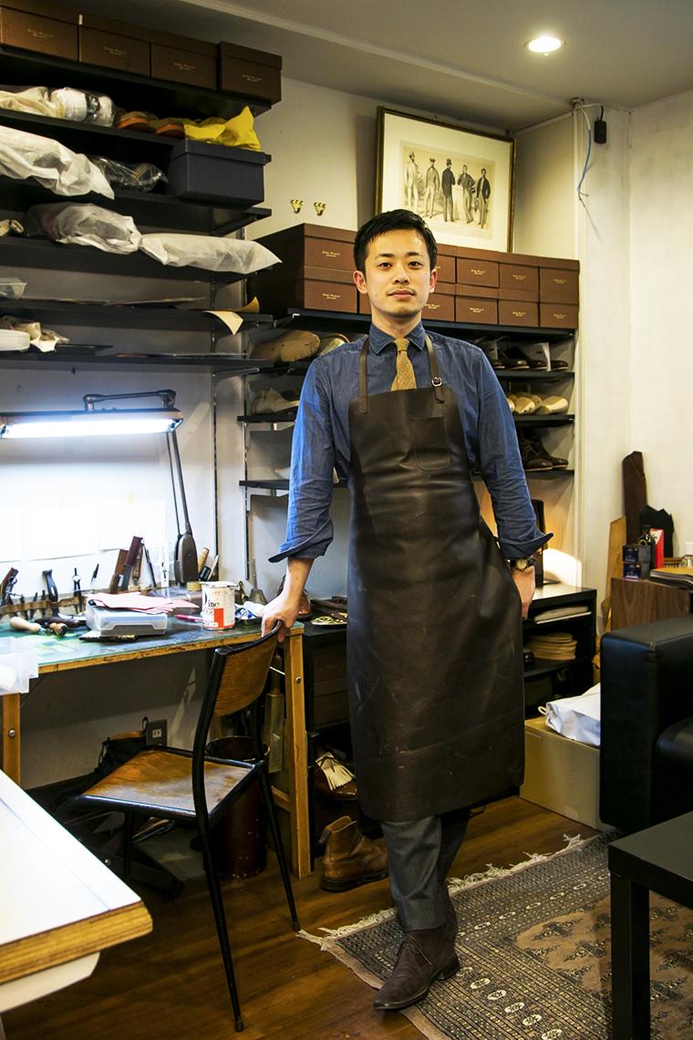 ビスポーク靴職人・森口 豊さん