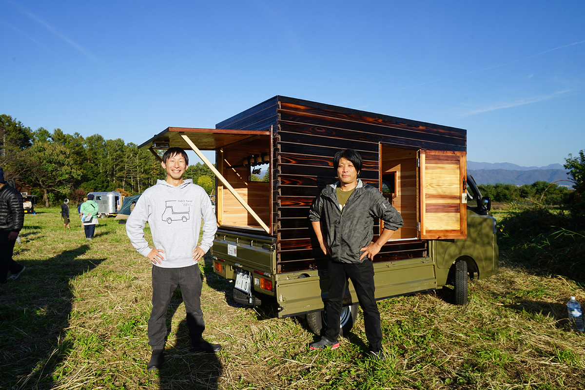 稲本さんと田畑さんの愛車