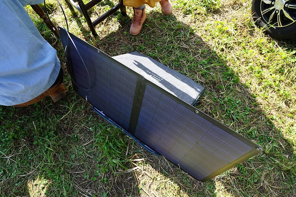 【EcoFlow】RIVER500のソーラーパネル