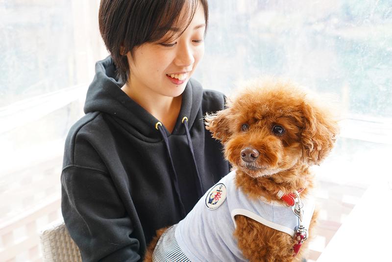 ユキさんと愛犬のココア君