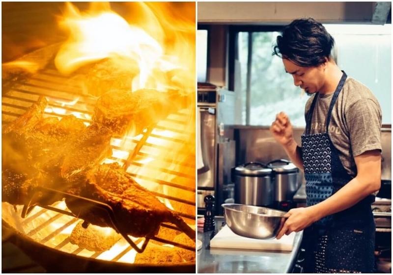 カエライフフェス2020のディナーは長野県の「ゲストハウスLAMP野尻湖」支配人マメさんが提供