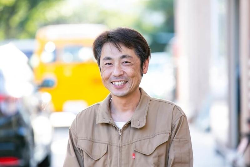 ブローの専務・モデラーの中澤さんのプロフィール写真