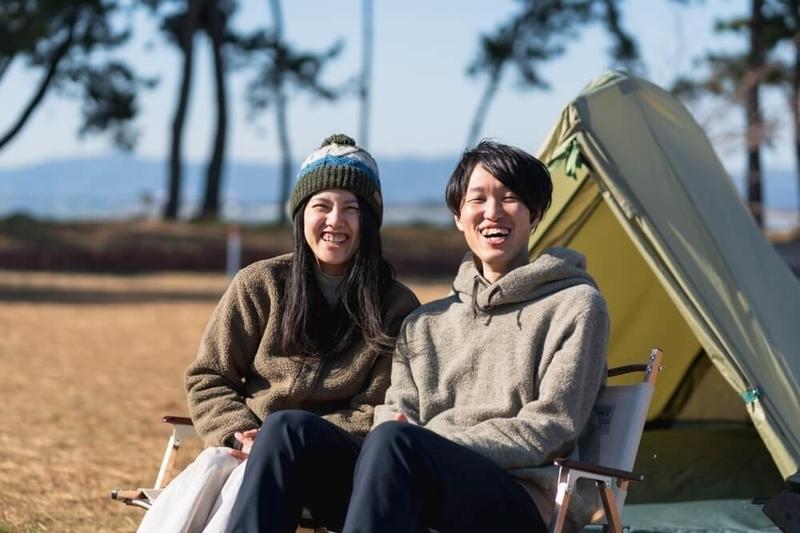 Hondaの軽自動車N-VANで車中泊・キャンプ、ゆるキャン聖地巡りを楽しむ野外のもりこさん夫婦プロフィール