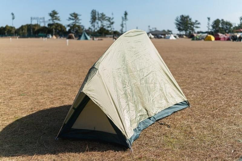 ゆるキャンに登場したテントのモデルとなったモンベルムーンライトテント