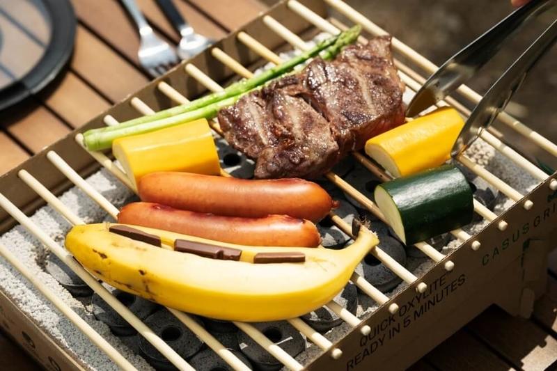 森さんイチオシのキャンプ料理。クラフトグリル
