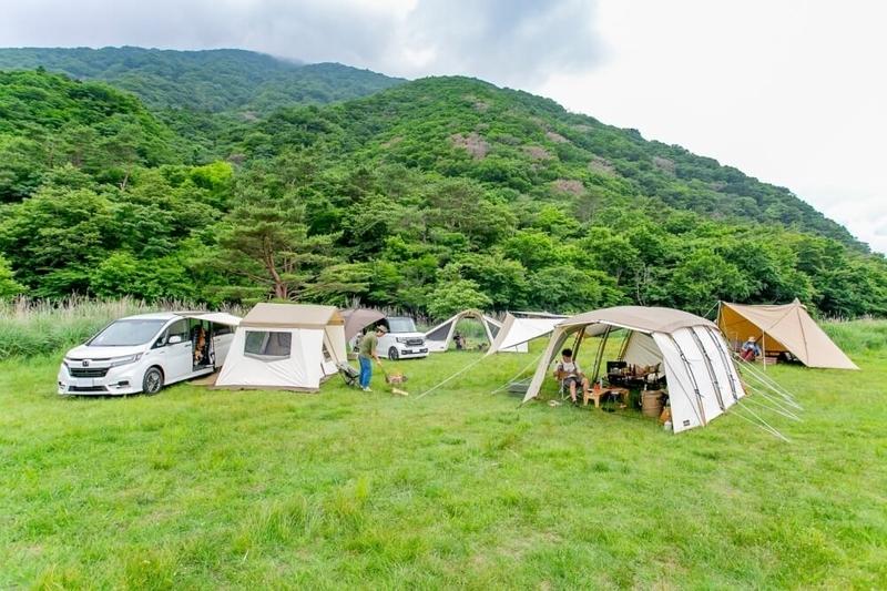 キャンプサイト全体の画像