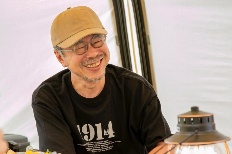 ogawaのテントやテントブームの変遷について語る福吉さん