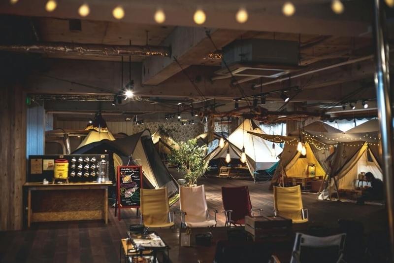 ogawa GRAND lodge CAFEの内観