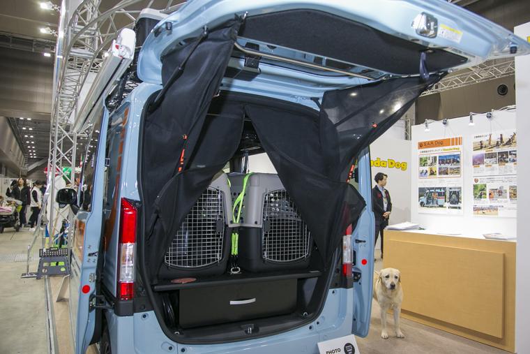 S.A.R. Dog Conceptに特別装備された後部扉のメッシュ