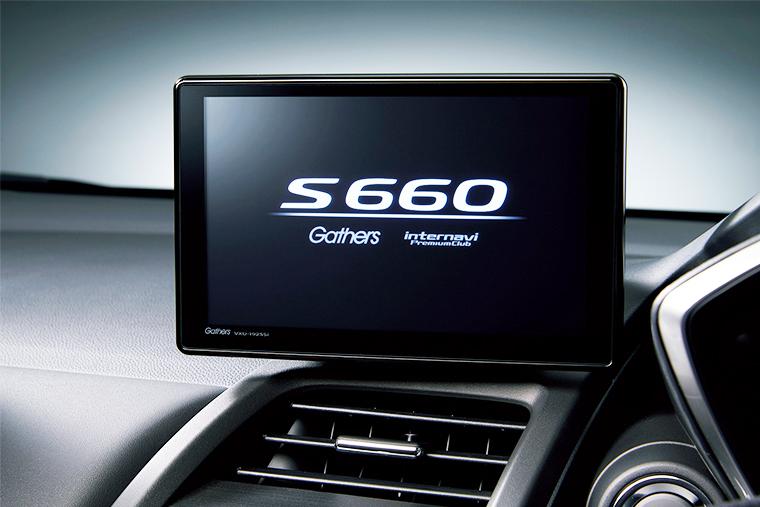 S660の純正ナビ