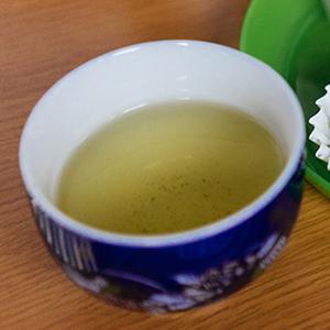 縁側カフェのお茶のイメージ