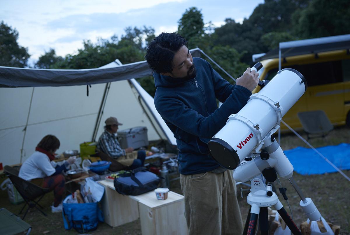 小雀陣二流、N-VANで作る大人キャンプ~DIY×天体観測の秋合宿!