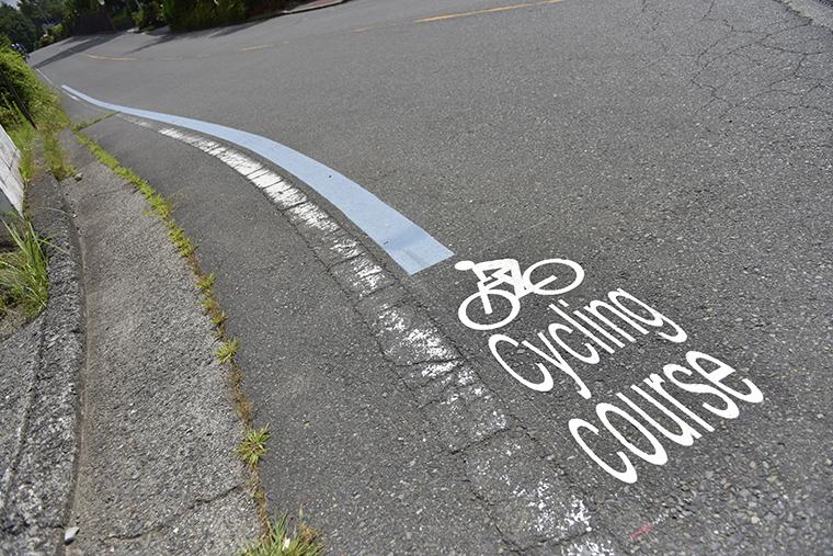 西湖周辺はツーリングに最適な道路環境だというイメージ