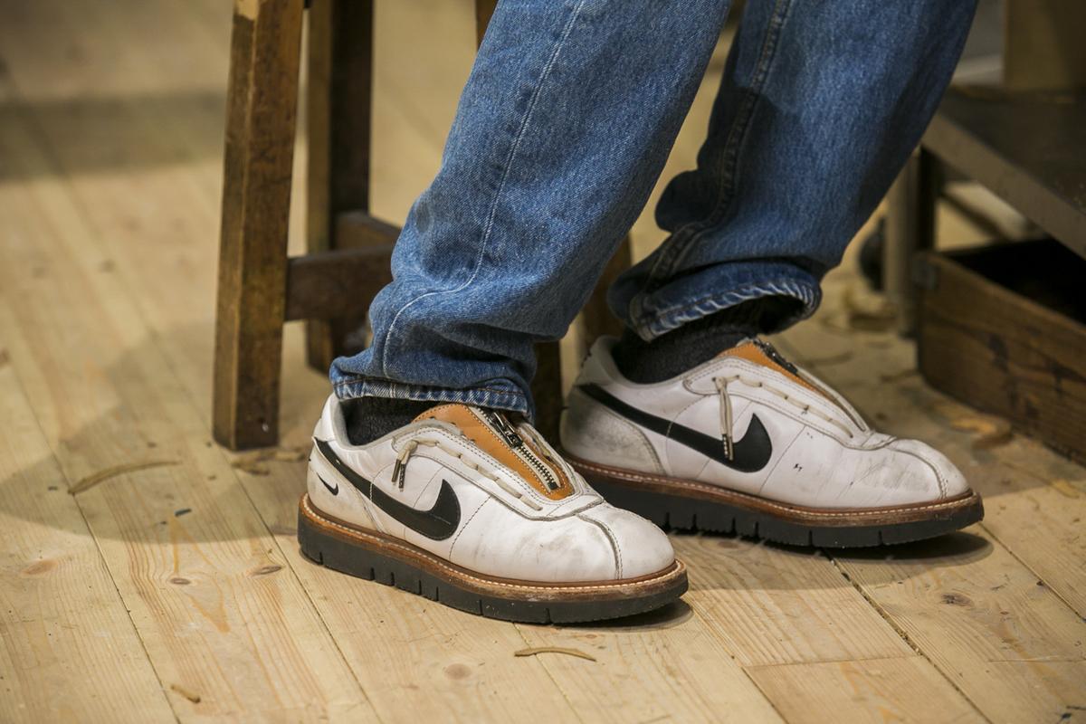 取材時に履いていた靴