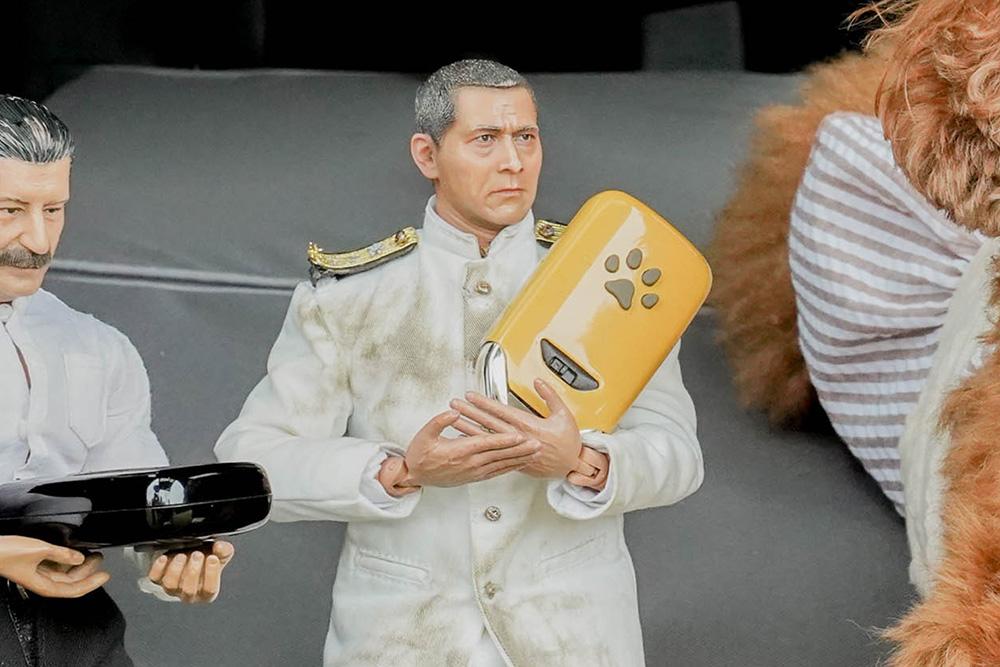 Honda Dogのペットキーカバー(肉球)をもつミフネさん