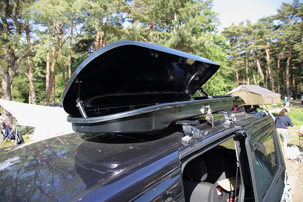 Honda ステップワゴンに設置したルーフボックス
