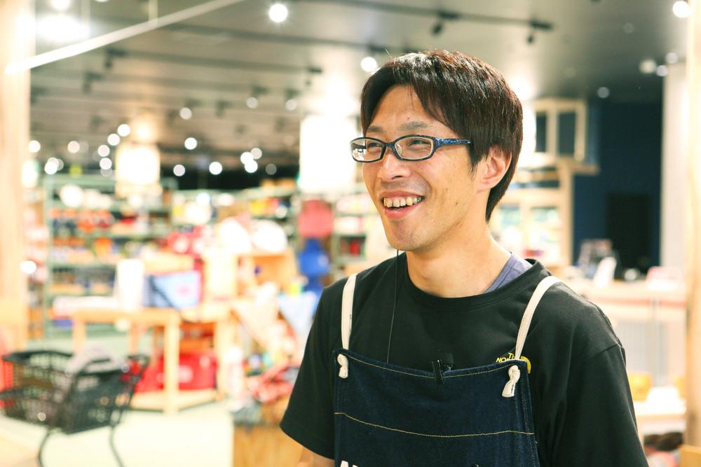 アルペンアウトドアーズフラッグシップストア柏店の店長代理 宮入 弘光さん