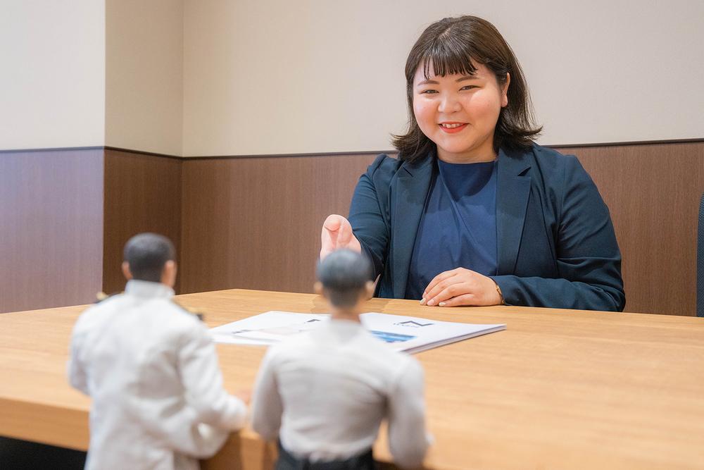 Honda Cars 東京西 さくらモール羽村店の営業の石川さん。