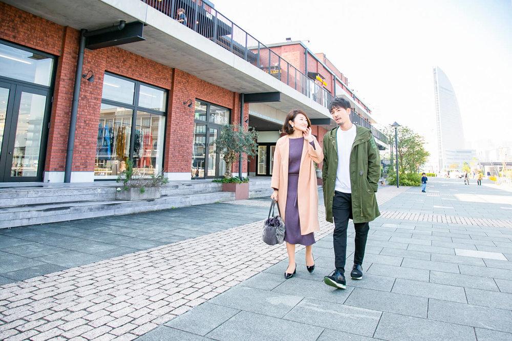 バチェラー小柳津林太郎の横浜デート、マリン アンド ウォーク ヨコハマをお散歩