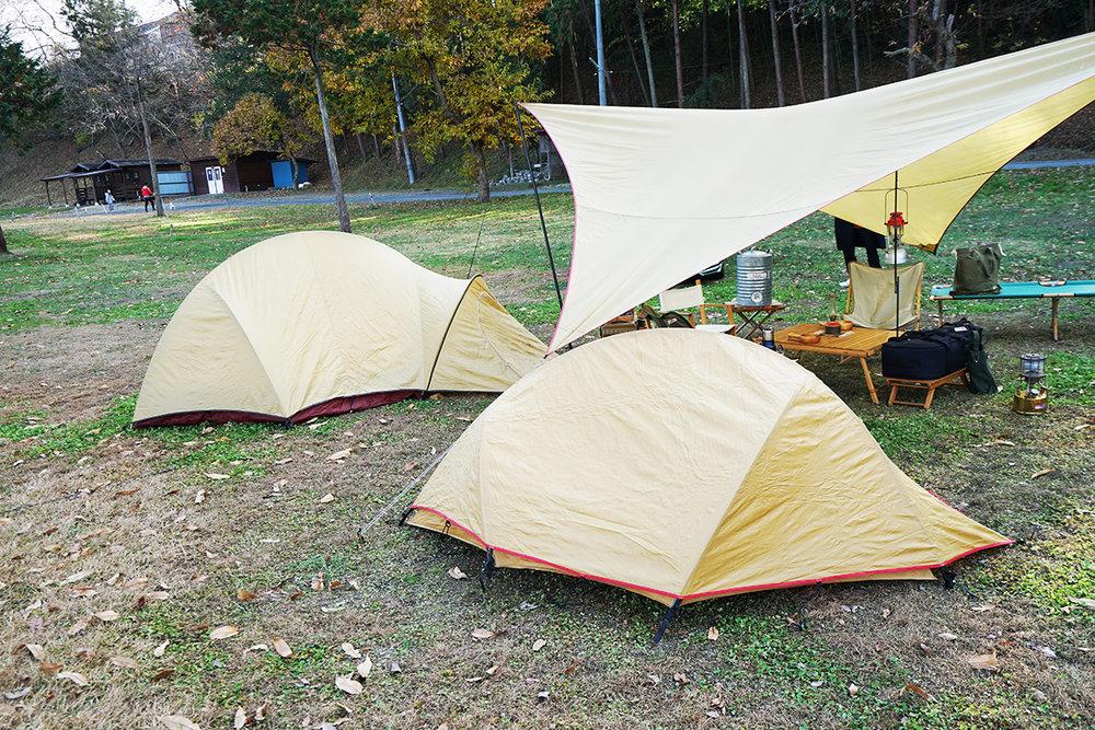 おしゃれなキャンプサイト