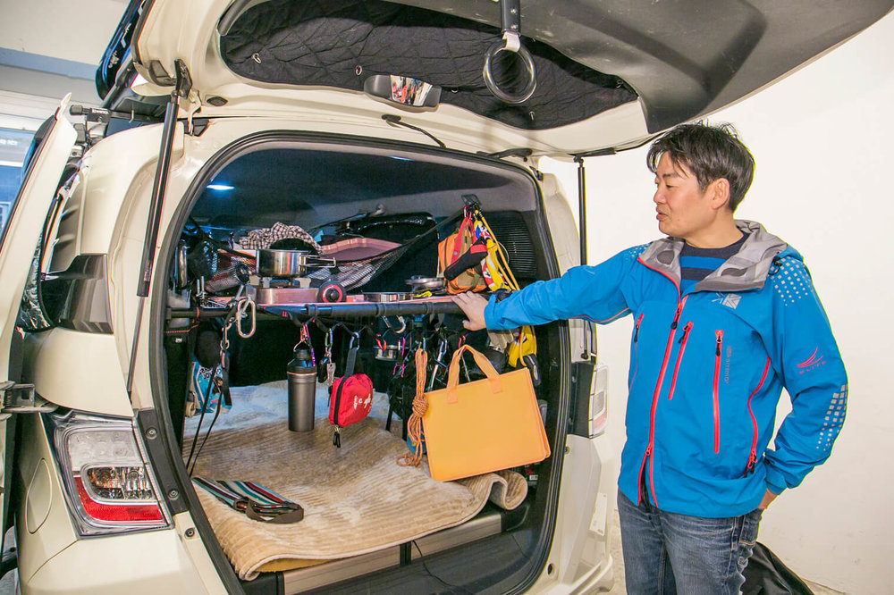 救急救命士でCoaido株式会社 COOの小澤貴裕さんが愛車のフリードスパイクを紹介