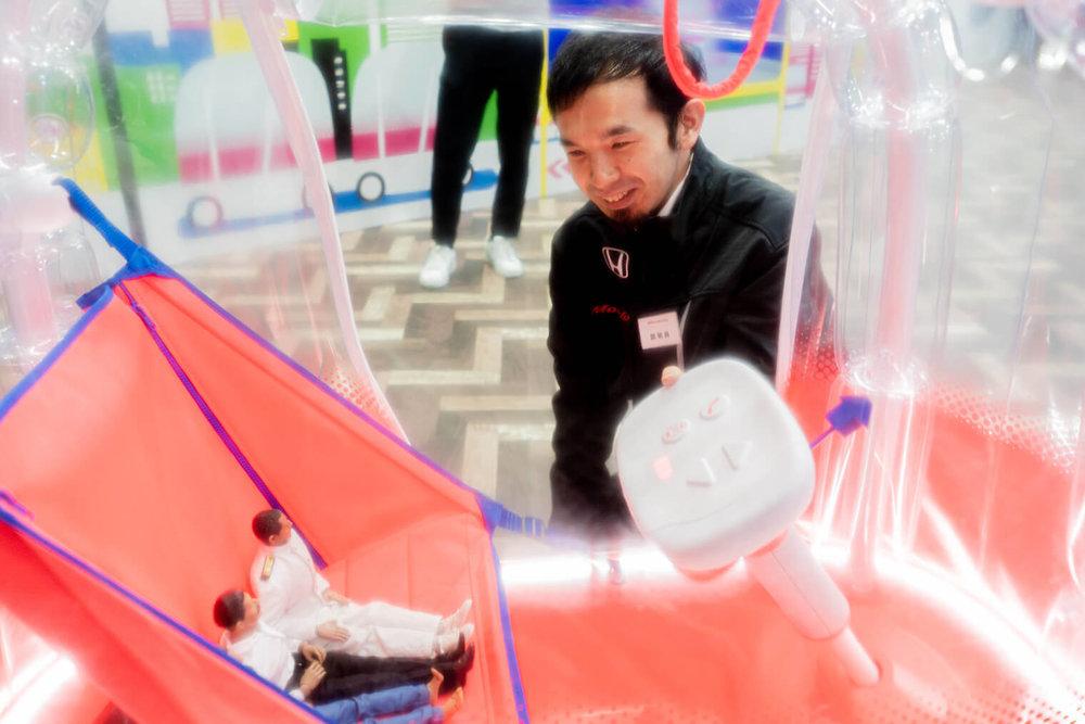 AIBOUを担当したホンダアクセス商品企画部のデザイナー隈泰行さん