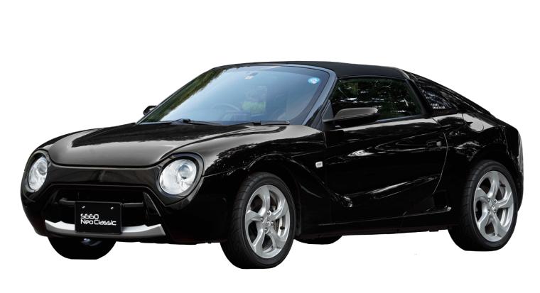 S660 ネオクラシック ブラック