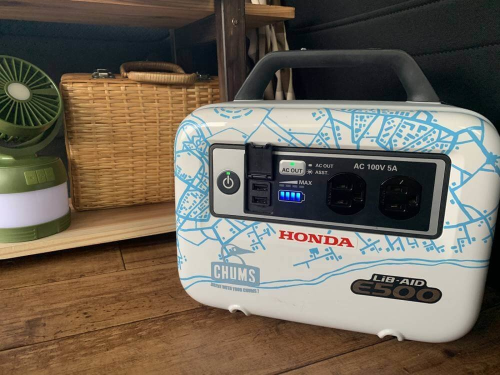 「ポータブル電源」が車中泊やキャンプをもっと快適にする|森 風美の車中泊。ただ今、軽バン改造中 vol.6