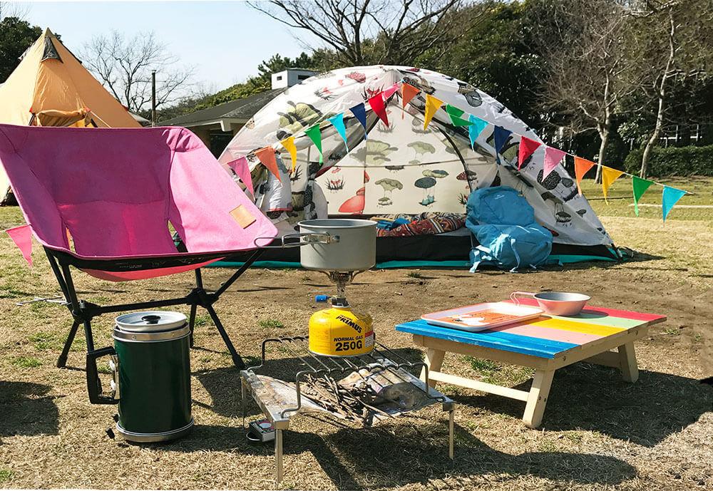 森風美さんのソロキャンプのイメージ