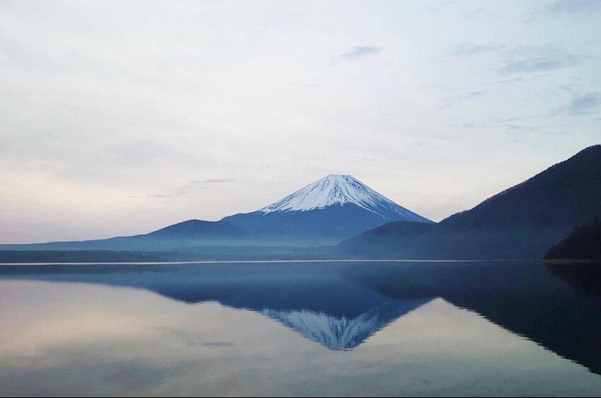 森風美さんが好きな浩庵キャンプ場からの景色