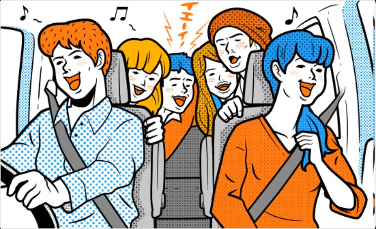 ピストン西沢が季節別にオススメするドライブ用プレイリスト!