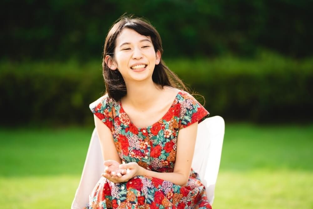 トーク中のキャンプ女子・森 風美さん
