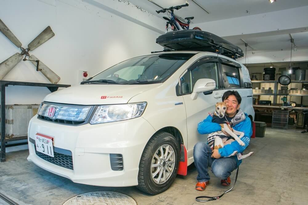 28_車中泊・キャンプの達人。小澤貴裕さんがカスタムしたHonda・フリードスパイクハイブリッドの写真