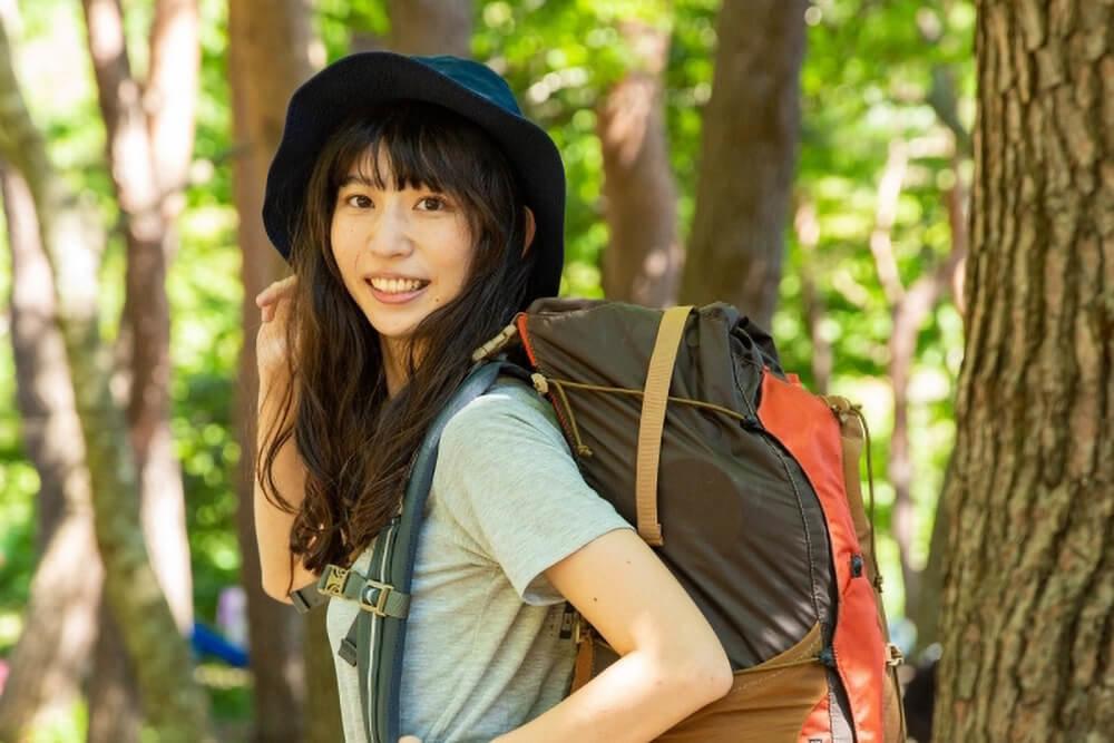 女子キャンパーの森風美さん