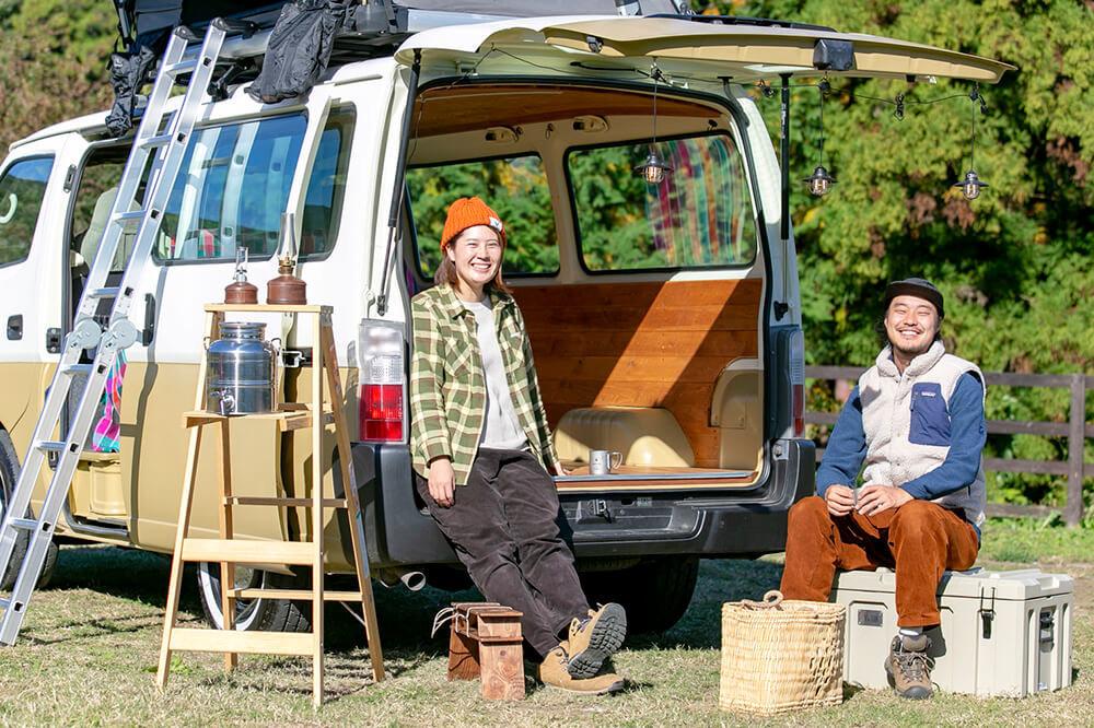 キャンプ場の経営ってどうやるの? 田舎に移住してキャンプ民泊を始めた野あそび夫婦のキャンプ&バンライフ