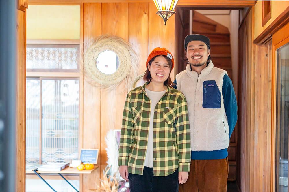 埼玉県ときがわ町にあるキャンプ民泊「NONIWA(ノニワ)」を経営する野あそび夫婦