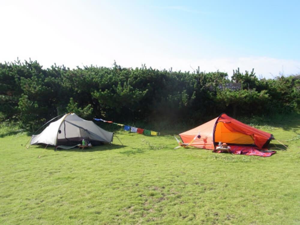 こいしさんがキャンプを始めたばかりのころの写真