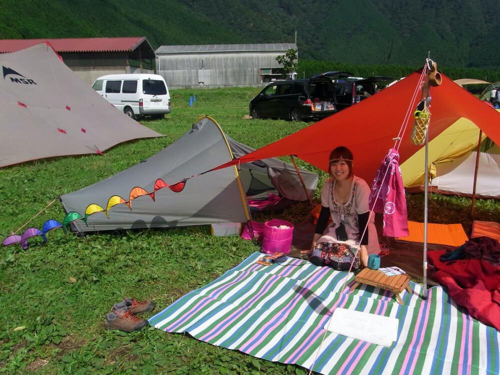 こいしさんがキャンプを始めたころの写真