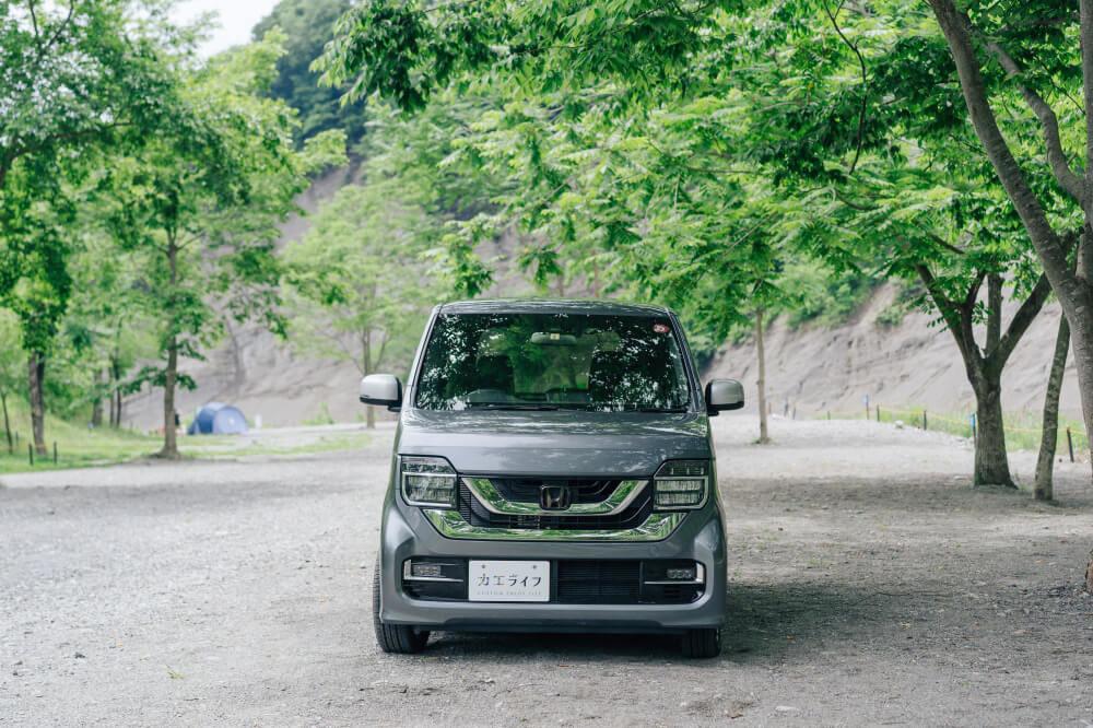 Honda N-WGNのフロント部分画像
