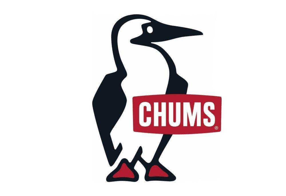 ブービーバードをモチーフにしたCHUMSのロゴ