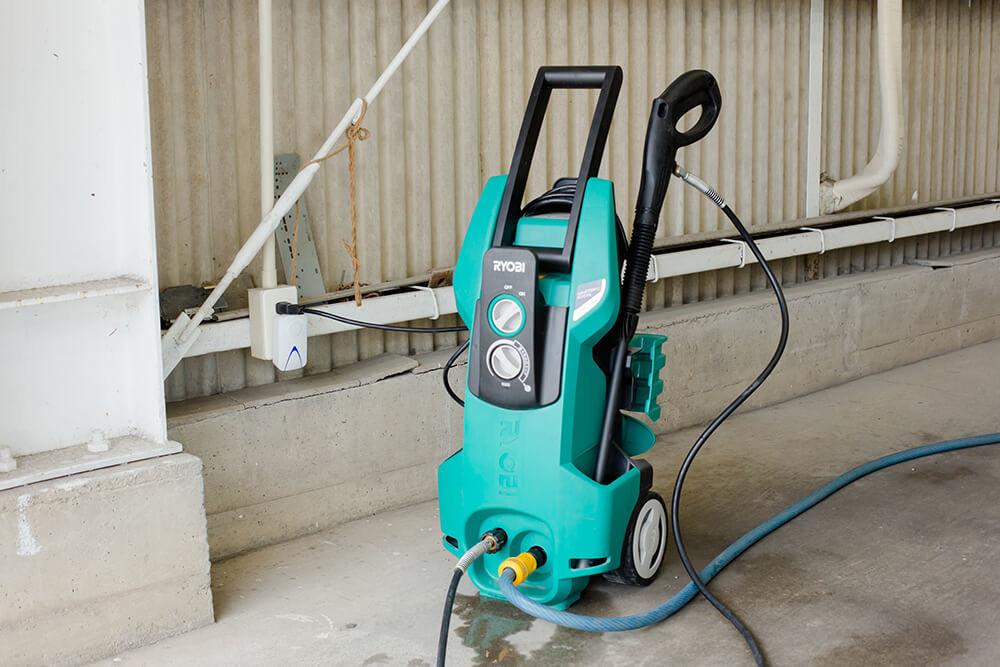 リョービ「AJP-4170VGQ」タイプの高圧洗浄機