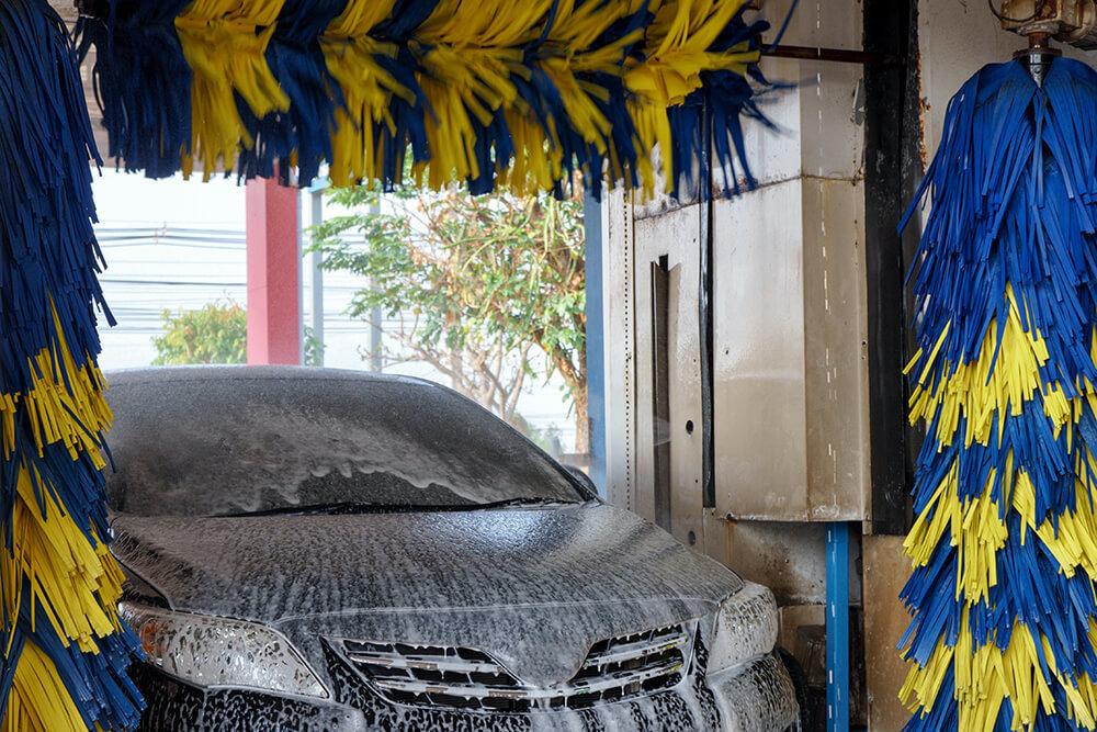 機械式の洗車機
