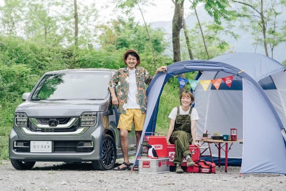 )Honda N-WGN×CHUMSのデュオキャンプ_アイキャッチ