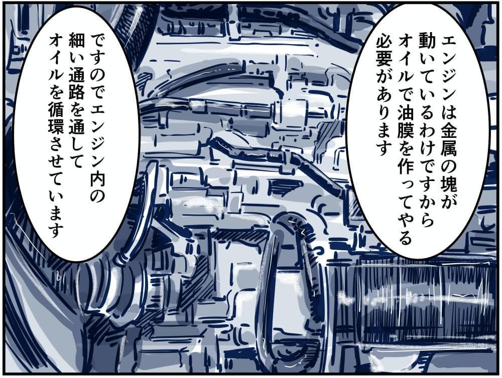 エンジン内部のイメージイラスト