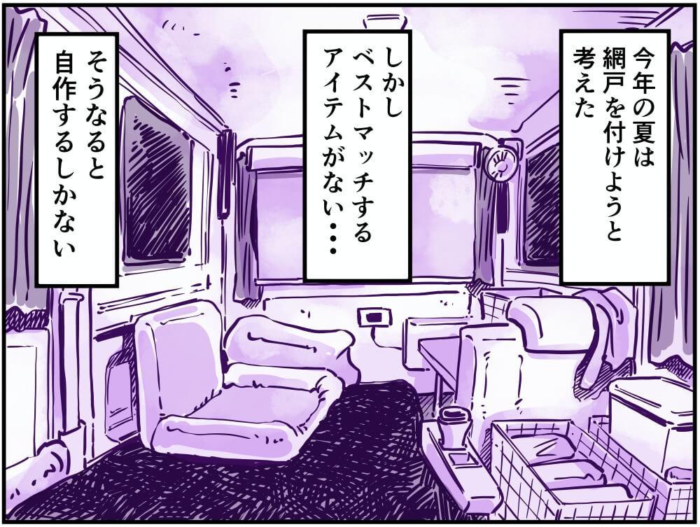 車中泊漫画家・井上いちろうさんのスズキ・エブリイの車内イラスト