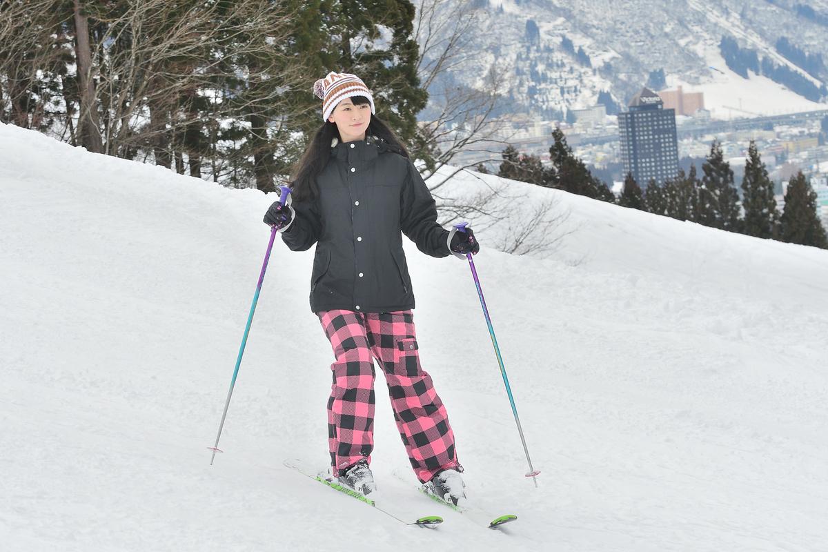 ひさしぶりにスキーを満喫しました!
