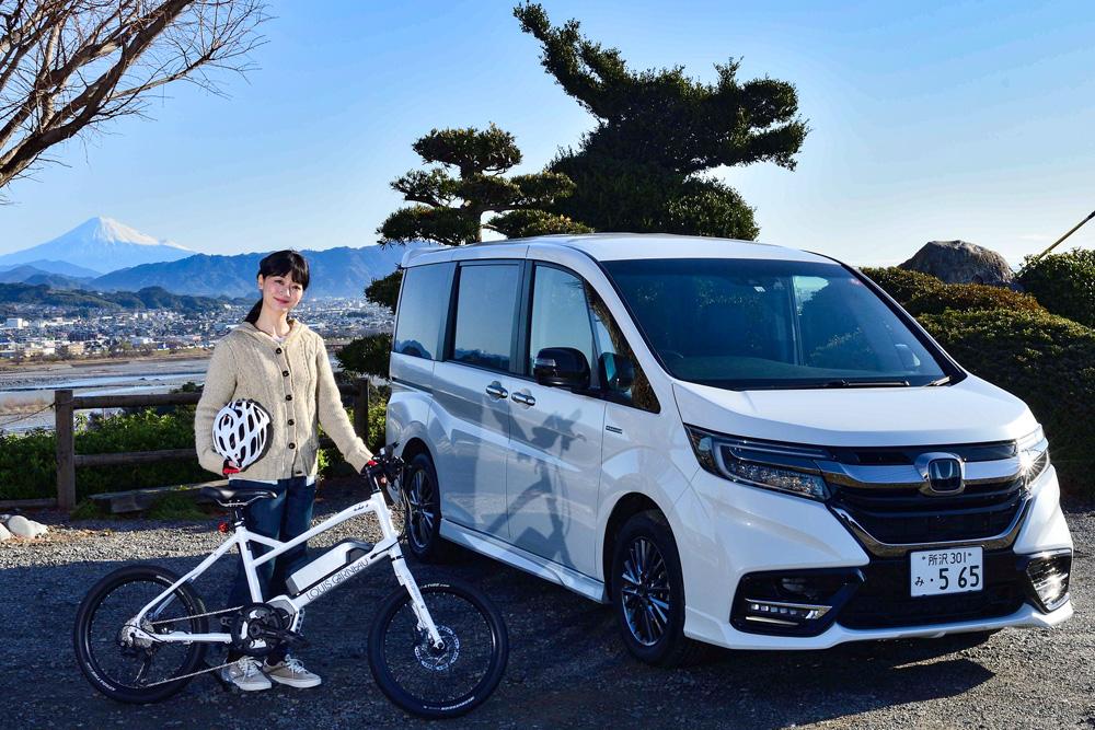ステップワゴンにe-bikeを載せてラクラク車中泊&サイクリング