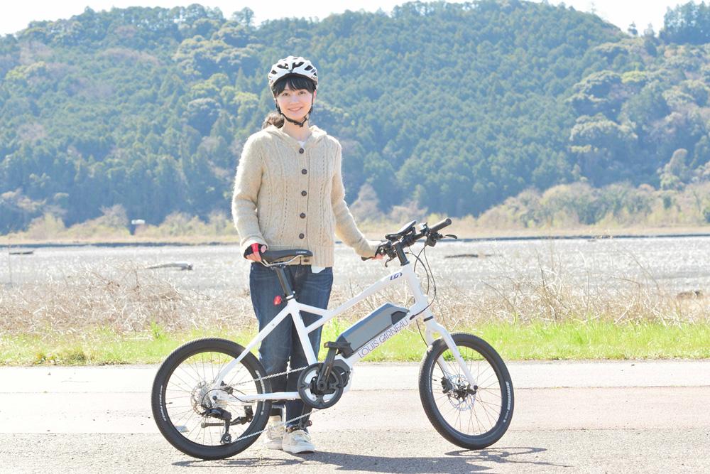 美音さんと車中泊へ一緒にでかけるのはミニベロタイプ(小径車)のルイガノ(LOUIS GARNEAU)「LGS ASCENT e-sports」