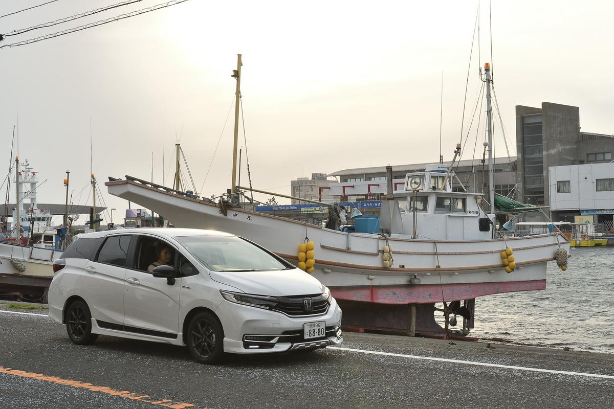 三崎漁港周辺をドライブ