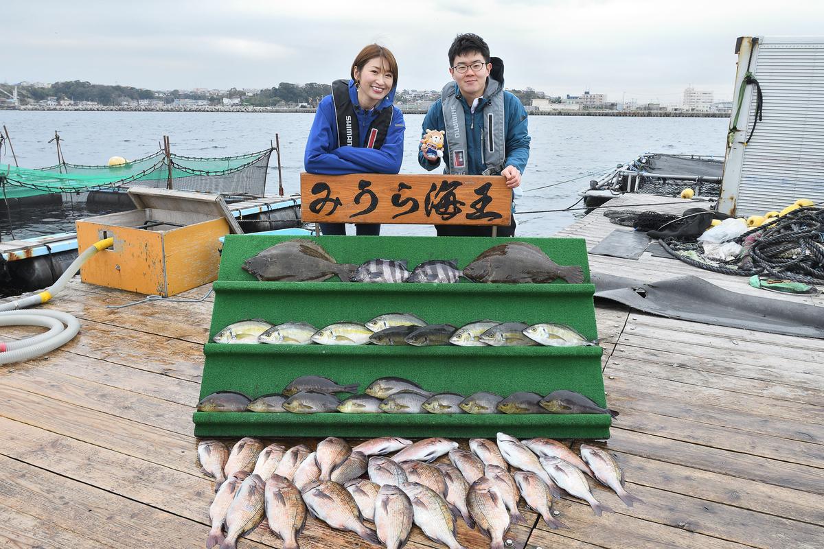 最終的な釣果は予想外の大漁でした